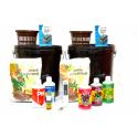 Комплект для выращивания HYDRO-START-DUO (2 x DWC 15л, питание, контроль pH), фото 1