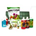 Комплект для выращивания TERRA-START-DUO (2 горшка, грунт, питание, контроль pH), фото 1