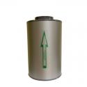 Канальный угольный фильтр КЛЕВЕР 350 м3, фото 1