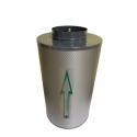 Канальный угольный фильтр КЛЕВЕР 500 м3, фото 1