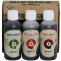 Стартовый набор органических удобрений BioBizz Try pack Indoor 250 ml, фото 1