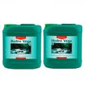 Удобрение для периода вегетации для мягкой воды CANNA Hydro Vega A+B 5л, фото 1