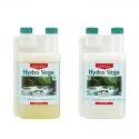 Удобрение для периода вегетации для мягкой воды CANNA Hydro Vega A+B 1л, фото 1