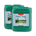 Удобрение для стадии вегетации на гидропонике CANNA Aqua Vega A+B 5л, фото 1