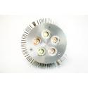 Лампа для растений LED 15 Ватт Е27 (Полный спектр x 2), фото 1