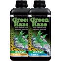 Удобрение для стадии вегетации на гидропонике Greenhaze Grow A+B 1л, фото 1