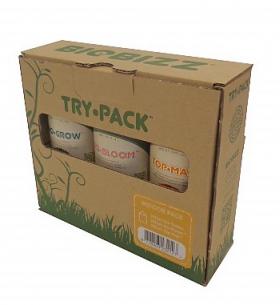 Стартовый набор органических удобрений BioBizz Try pack Indoor 250 ml, фото 2