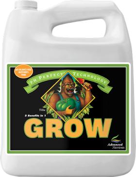 Базовое удобрение Advanced Nutrients pH Perfect Grow 5л, фото 1